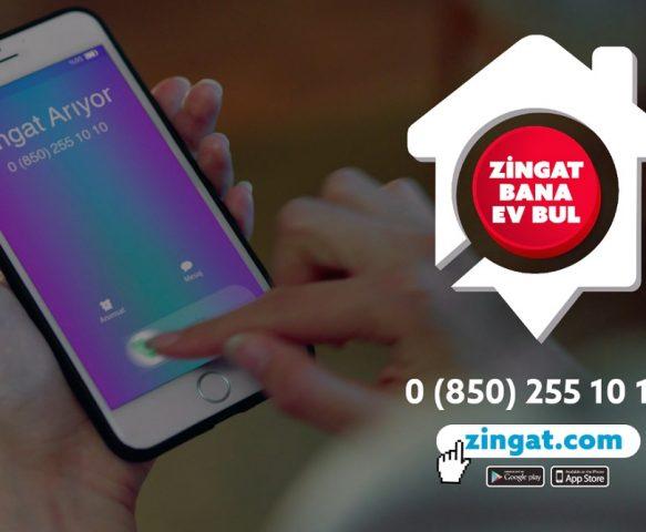 Zingat.com'un yeni reklam filmi yayında!